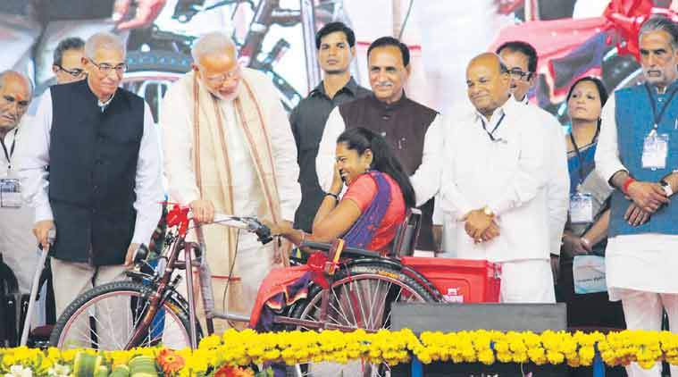 Gujarat Assembly Elections 2017, Narendra Modi, persons with disabilities, divyang voters in Gujarat, voting age, Election Commission, BJP