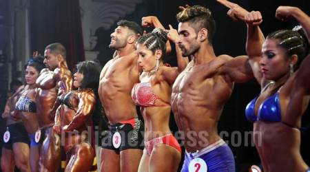 Body building photos, Bodybuilding Championships 2017 photos, Talwalkars, Talwalkar gym photos, Indian Express