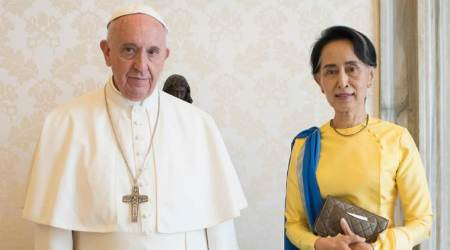 Pope Francis to meet Aung San Suu Kyi on Rohingya crisis amid UN outcry