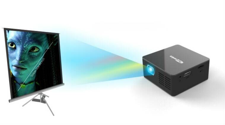 Portronics Progenie pico projector review price in India features