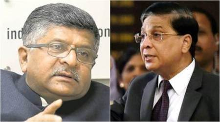 If PM and law minister can't be trusted on selection of judges, it's a huge question, says Ravi Shankar Prasad