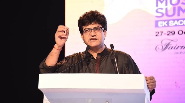 cbfc chief prasoon joshi talks about misogyny in songs