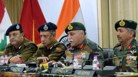 190 militants killed in Kashmir this year: Armyofficial