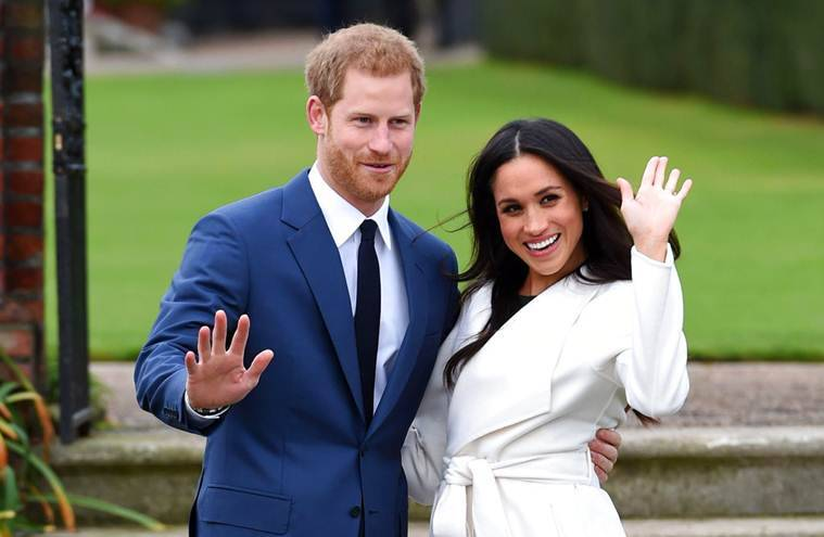 prince harry and meghan markle first engagement photos