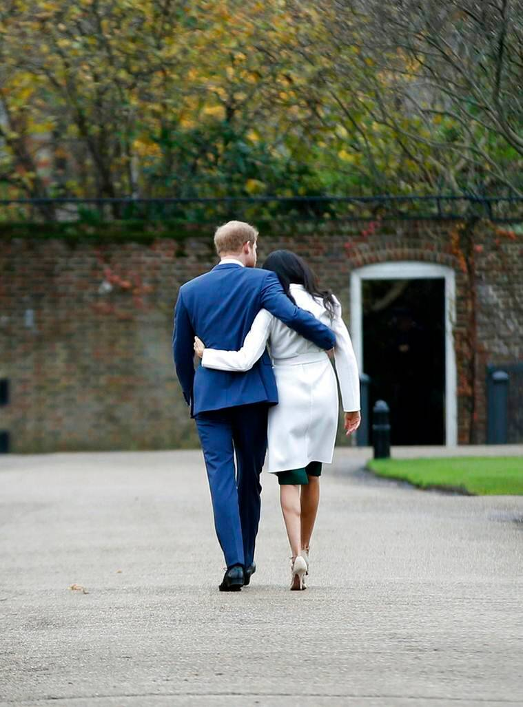 first photos of newly engaged prince harry and meghan