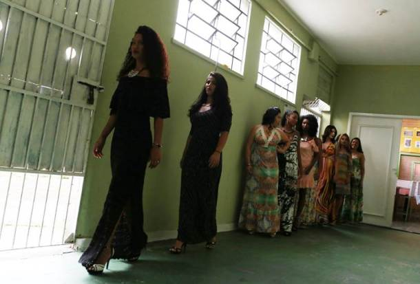 women criminals beauty pageant jail, Talavera Bruce jail's annual beauty pageant, Talavera Bruce jail, Rio de Janeiro, indian express, indian express news