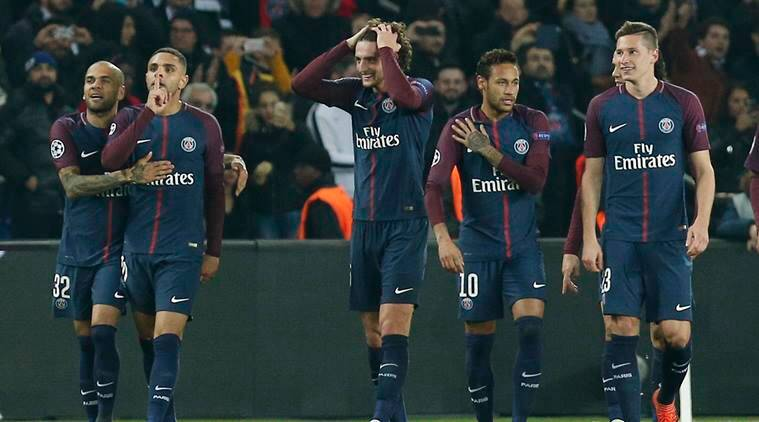 UEFA Champions League: PSG sail into Round of 16 with 5-0 ...