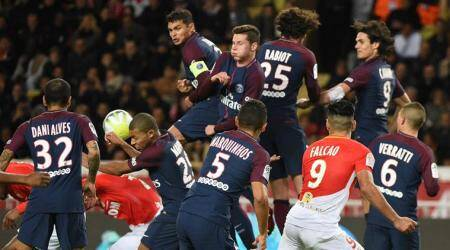 PSG win 2-1 at Monaco to move 9 points clear in Ligue1