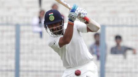 India vs Sri Lanka: Art of Leaving presented by Cheteshwar Pujara at Eden Gardens