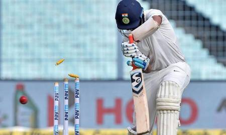 Pujara shines brightest as India post 172