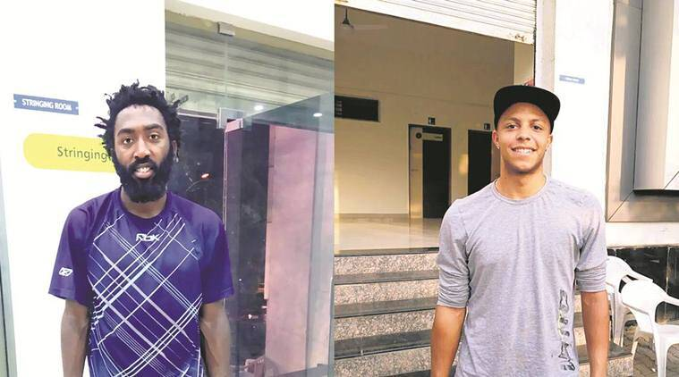 Evan King and Jay Clarke at Pune Challenger