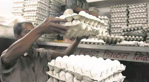 Egg prices in city soar to Rs 84-86 a  dozen from Rs 60 a dozen last week