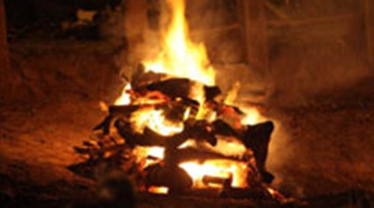 90 Year Old Woman Sets Herself On Fire After Building Pyre