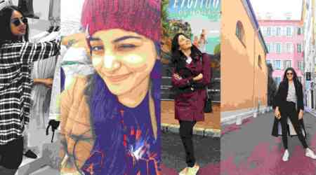 Queens' day-out: Tamannaah, Kajal Aggarwal, Parul Yadav, Manjima Mohan take day off from France schedule