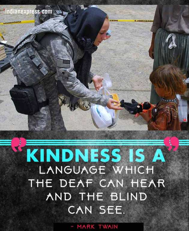 kindness, world kindness day 2017, quotes on kindness, quotes from novels on kindness, indian express, indian express news