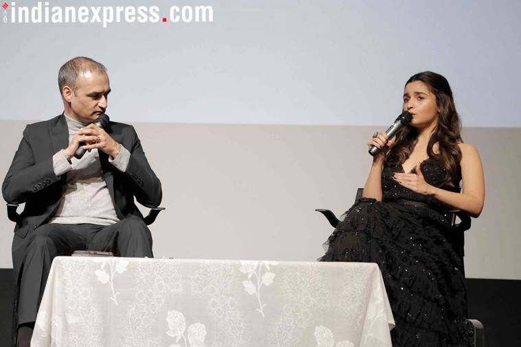 Alia Bhatt spoke at the Kala Academy section of the International Film Festival of India (IFFI).