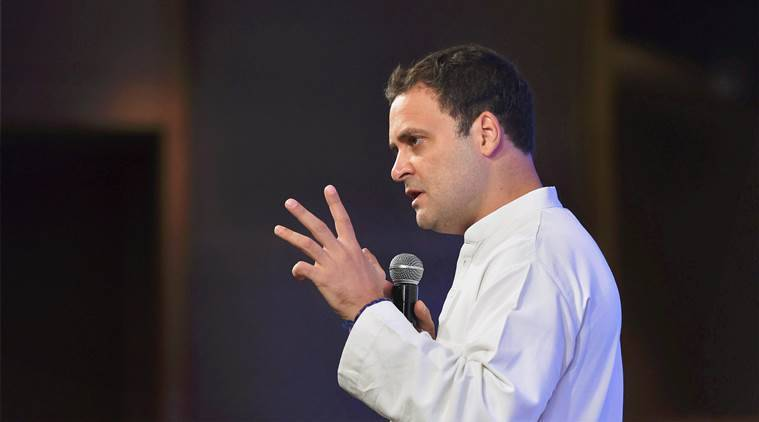 Gujarat Assembly elections 2017, Gujarat elections, Gujarat elections 2017, Rahul Gandhi, Rahul Gandhi on Gujarat elections, BJP, Congress, indian express news