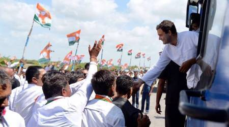 Rahul Gandhi to accept huge Indian flag allegedly 'insulted' by Gujarat CM