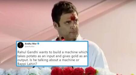 Rahul Gandhi's 'POTATO to GOLD' formula from Gujarat speech gets twisted into HILARIOUS memes