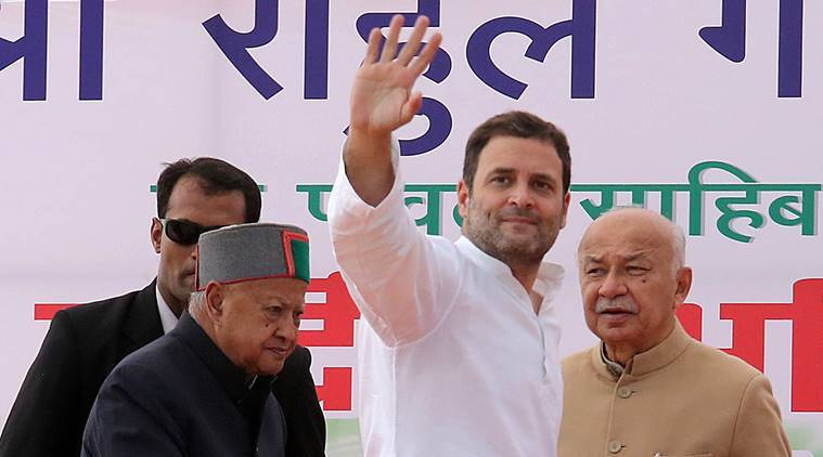 Rahul Gandhi, Rahul Gandhi in Himachal, Himachal Pradesh 2017 elections, Himachal assembly elections, Virbhadra Singh, Narendra Modi, BJP, Congress, india news, indian express