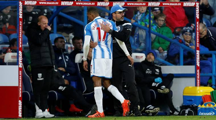 Rajiv van La Parra, Huddersfield, West Bromwich Albion, Premier League, sports news, football, Indian Express