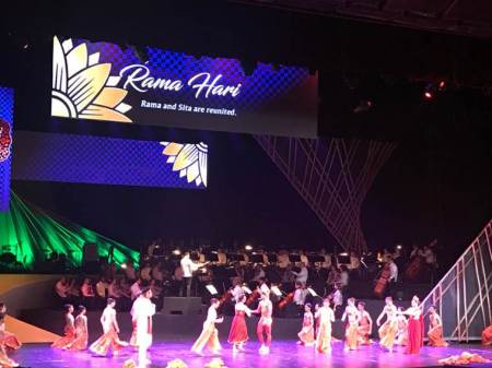 Musical play based on Ramayana enthralls leaders at ASEAN openingceremony