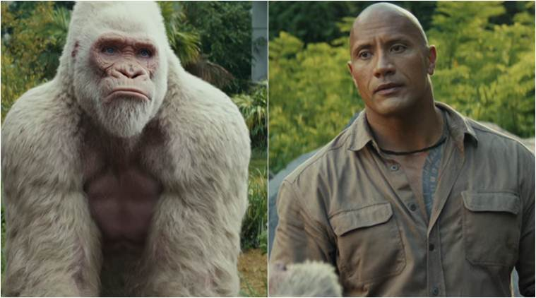 Watch Rampage trailer: Dwayne Johnson tries to save the