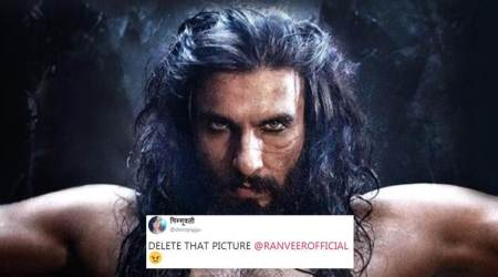 Padmavati: Ranveer Singh compares his Khilji look to Heath Ledger's Joker; Twitterati NOT amused