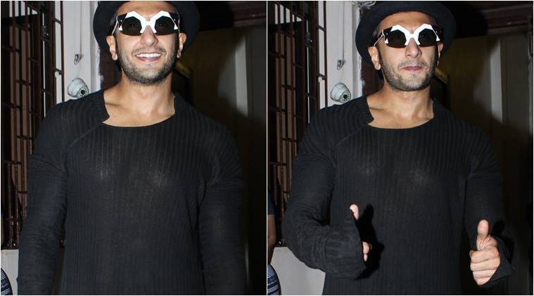 Ranveer Singh quirky shades and outfits