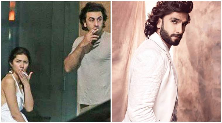 Ranveer Singh reacts to THAT Mahira-Ranbir photo