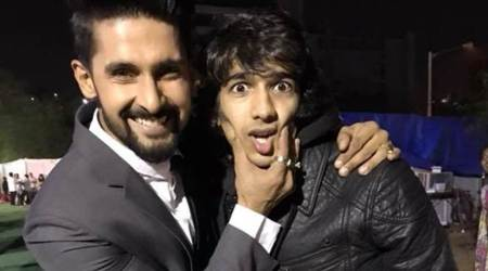 Reunion time for Khatron Ke Khiladis Shantanu Maheshwari and Ravi Dubey at ITA Awards