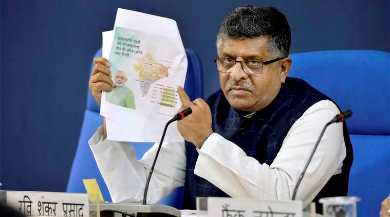 Cyber-diplomacy to be a key issue at Global Conference on Cyber Space: Ravi Shankar Prasad - The Indian Express