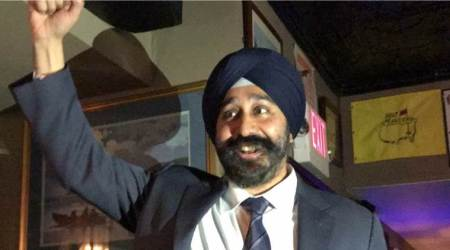 ravinder bhalla, New jersey, sikh mayor new jersey, Hoboken Mayor, Dawn Zimmer, ravinder bhalla terrorism, latest news, indian express