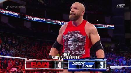 WWE Survivor Series 2017 Results: Team Raw defeats SmackDown in battle of the brands