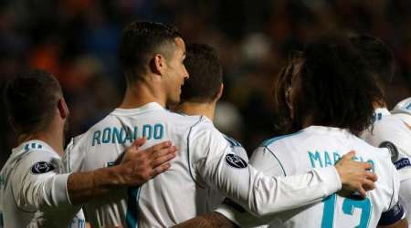 Real Madrid thrashed APOEL in Champions League