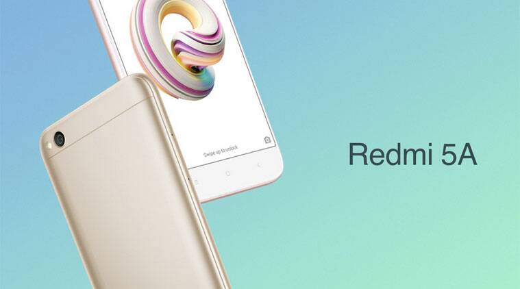 Xiaomi launches Redmi 5A for Rs 4999 onwards