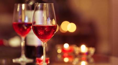 red wine, dry wine, deep ruby wine, wine yards, hard alcohols, alcoholic drinks affect emotions, indian express, indian epxress news