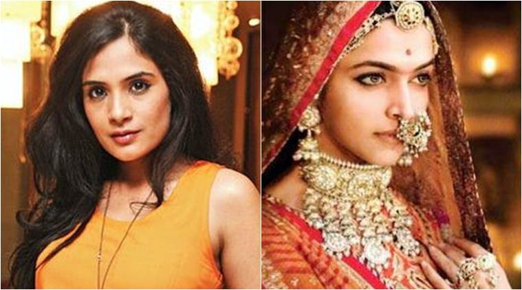 richa chaddha on padmavati controversy
