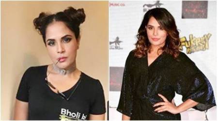 richa chadda, fukrey returns, fukrey returns promotions, richa chadda fukrey returns promotions, richa chadda promotional style, richa chadda fashion, richa chadda style, richa chadda news, richa chadda latest photos, indian express, indian express news