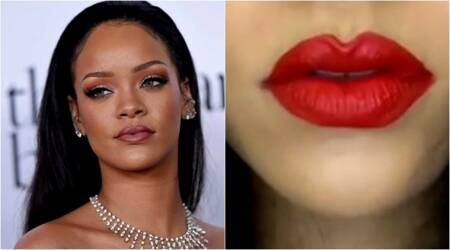 VIDEO: Rihanna does her first make up tutorial, asks fans not to make fun of her