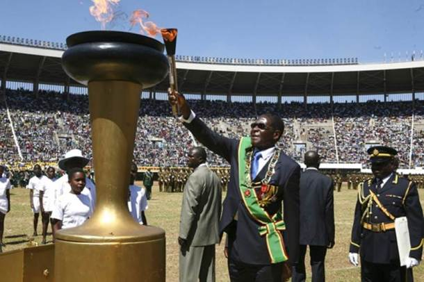 Zimbabwe President Robert Mugabe's resignation