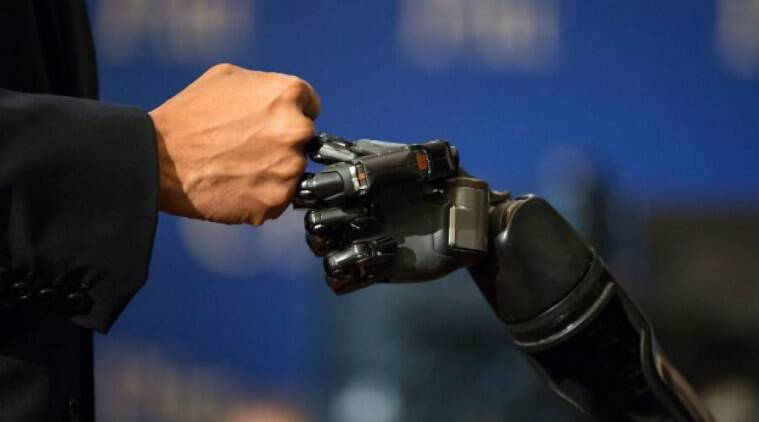 A new study has shown that amputees can control robotic arms through their mind, with the help of a chip implanted in their brain.