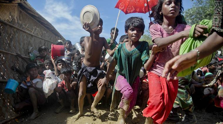 Myanmar denied any atrocities against Rohingya