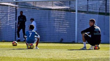 Cristiano Ronaldo shares video of son's football skills, feels proud