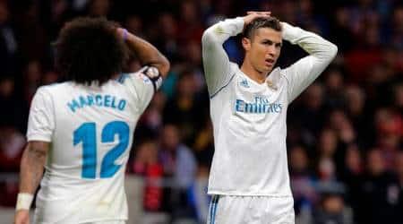 Cristiano Ronaldo could not score a goal