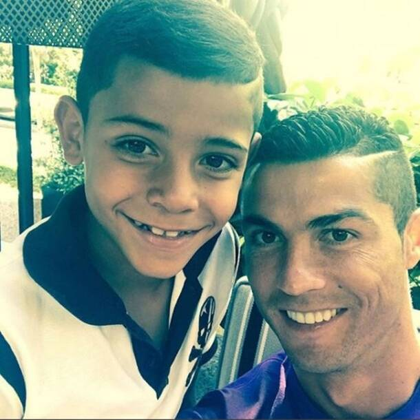 cristiano ronaldo, ronaldo pictures, georgina rodrigues, cristiano ronaldo junior, ronaldo father, ronaldo family pics, football, sports images, indian express