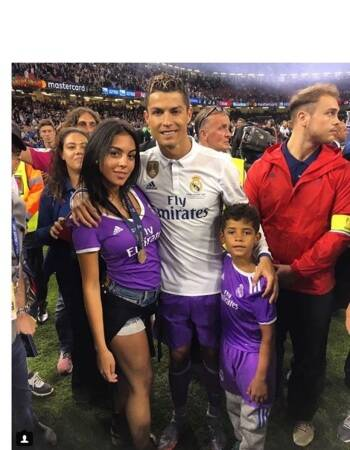 Cristiano Ronaldo Girlfriend Georgina Rodriguez Become Parents To Daughter Rare Pictures Of Star Footballer S Family Sports Gallery News The Indian Express