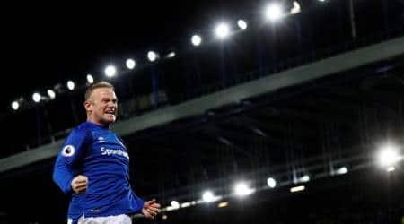 Wayne Rooney stunning goal for Everton