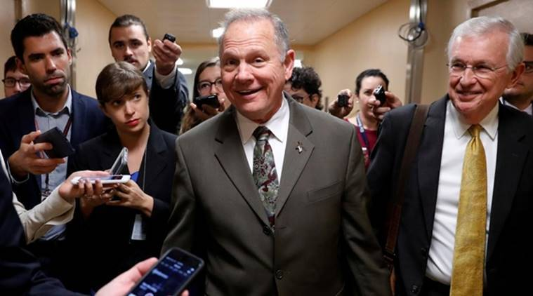roy moore sexual assault, roy moore US republican, roy moore allegations sexual assault, roy moore sexual abuse, roy moore US senate, roy moore allegations, indian express news