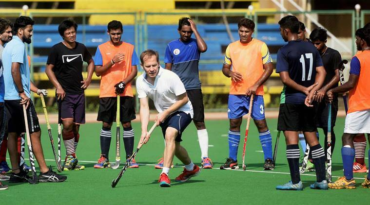 hockey clinic, Fabian Rozwadowski, rozwadowski, Mumbai Hockey Association, hockey, sports news, indian express